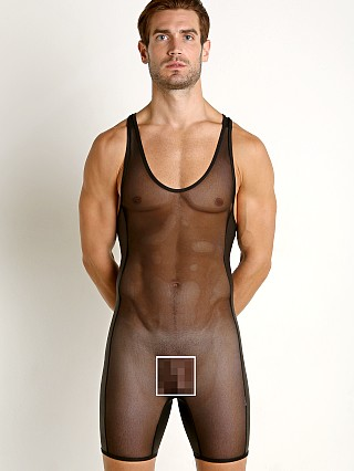 You may also like: Go Softwear Hard Core Grid Mesh Frisk Singlet Black