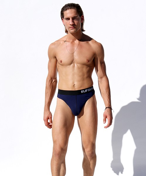 Rufskin California Cotton Cisco Thong Navy