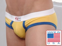 Go Softwear Gold/Royal Lo-rise Briefs