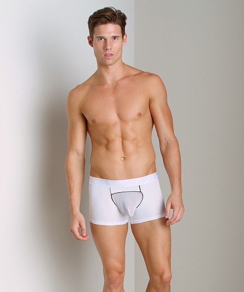Intymen Screen Pouch Boxer White