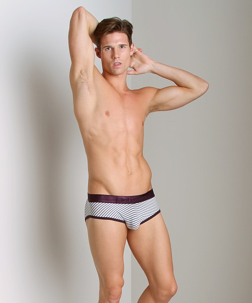 Intymen Sailor Stripe Brief Deep Purple