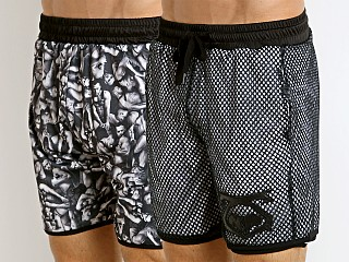 Nasty Pig Chase Reversible Short Black