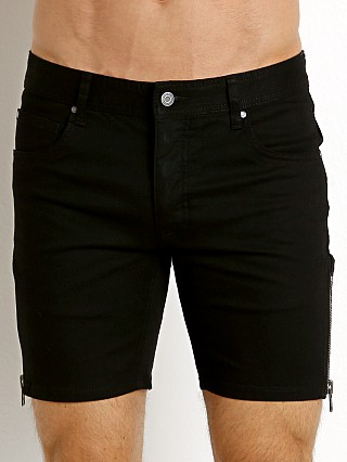 Nasty Pig Stretch Denim Zip Shorts Black