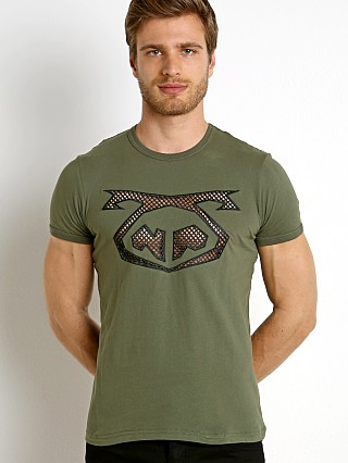 Nasty Pig Crusher Mesh Tee Army Green