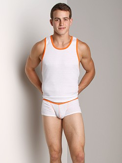 Go Softwear Nouveau Pop Tank Top White/Orange