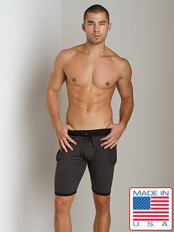 Go Softwear 100% Cotton Yoga Short Black