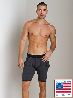 Go Softwear 100% Cotton Yoga Short Navy