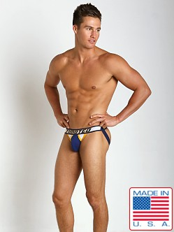 Timoteo Shadow Jockstrap White/Blue