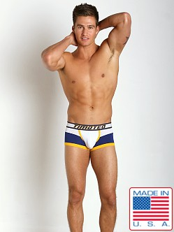 Timoteo Shadow Mesh Panel Trunk White/Blue