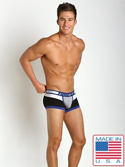Timoteo Shadow Mesh Panel Trunk Grey/White/Black