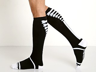 Cell Block 13 Kennel Club Knee Socks Black