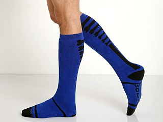 Cell Block 13 Kennel Club Knee Socks Blue