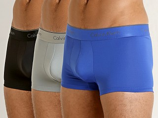 Calvin Klein Microfiber Stretch Low Rise Trunk 3-Pack Multi
