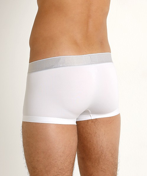Calvin Klein Customized Stretch Low Rise Trunk White