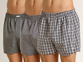 You may also like: Calvin Klein Woven Boxers 3-Pack Grey Sky