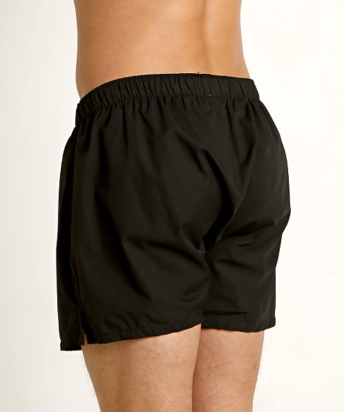 Calvin Klein Woven Boxers 3-Pack Black