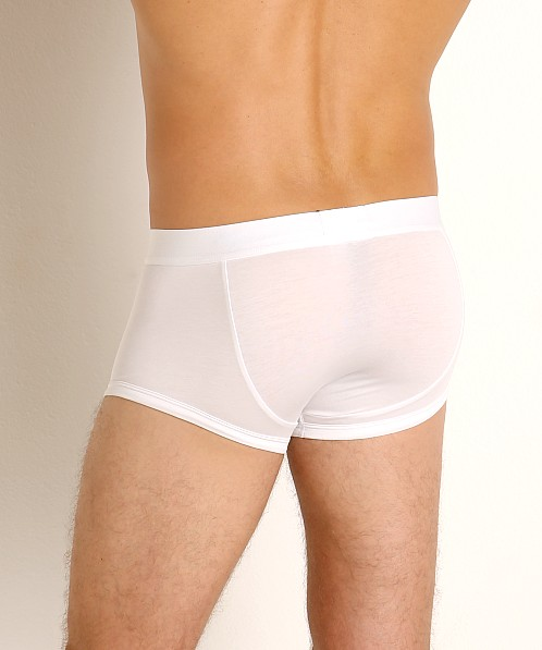 Emporio Armani Superfine Pima Cotton Trunk White
