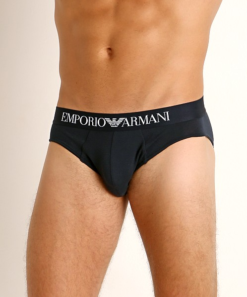 Emporio Armani Pure Organic Cotton Brief Marine
