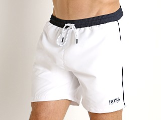 Hugo Boss Starfish Swim Shorts White