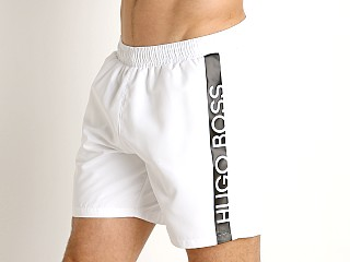 Complete the look: Hugo Boss Dolphin Swim Shorts White