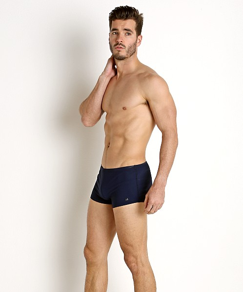 40cbc4a20c Hugo Boss Oyster Swim Trunk Navy 50302935-413 at International Jock