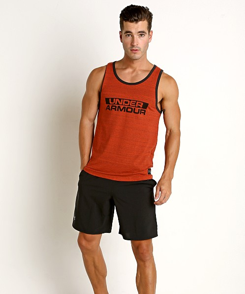 Under Armour Sportstyle Cotton Tank Radio Red