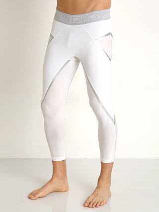 Under Armour Core 3/4 Compression Legging White