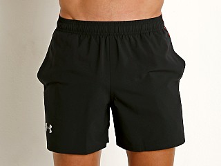 "Under Armour Launch 5"" Running Short Black/Red"