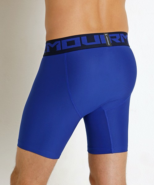 Under Armour 2.0 Mesh Front Compression Short Royal