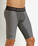 Under Armour Heat Gear 2.0 Compression Short Carbon Heather, view 3