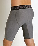 Under Armour Heat Gear 2.0 Compression Short Carbon Heather, view 4
