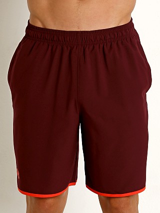 Under Armour Qualifier Woven Short Dark Maroon