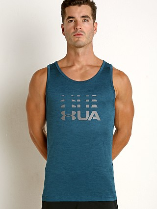 Under Armour Tech Graphic Tank Techno Teal