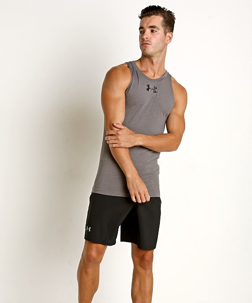 Under Armour Baseline Cotton Tank Top Carbon Heather