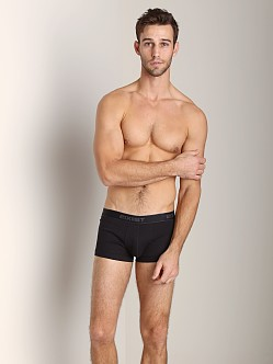 2xist 3-Pack No-Show Trunks Black