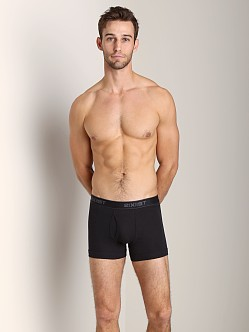 2xist 3-Pack Boxer Briefs Black