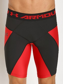 Under Armour Heatgear Compression Coreshort Red/Black