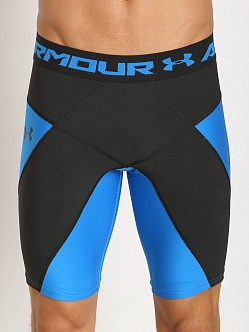 Under Armour Heatgear Compression Coreshort Blue Jet/Black