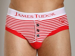 James Tudor Regal Brief Red