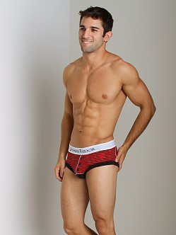 James Tudor Regal Brief Black/Red