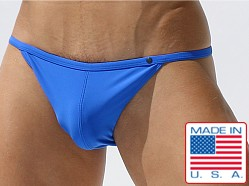 Rufskin Jarvis Euro Cut Men's Bikini Matte Royal
