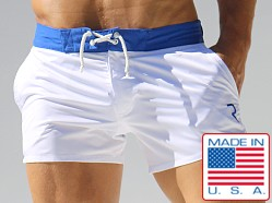 Rufskin Patrick Short Board Shorts White/Royal