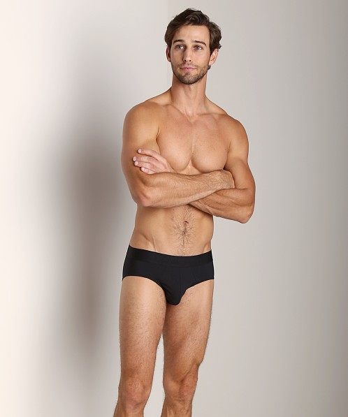 Calvin Klein Black Micro Hip Brief Black