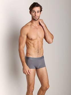 Calvin Klein Black Micro Low Rise Trunk Grey Sky