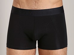 Calvin Klein Black Cotton Trunk Black
