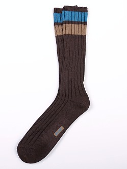 2xist Crew Weekender Socks Brown