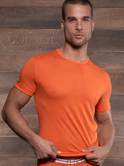 C-IN2 Zen Crew Neck Shirt Zippy Orange