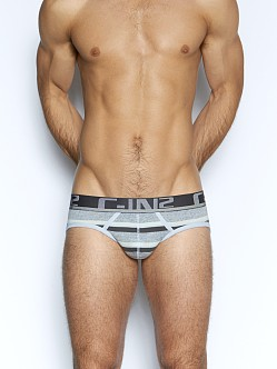 C-IN2 Pop Stripes Lo No Show Brief Clean Quartz