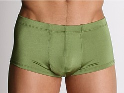 California Muscle Euro Swim Boxer Olive