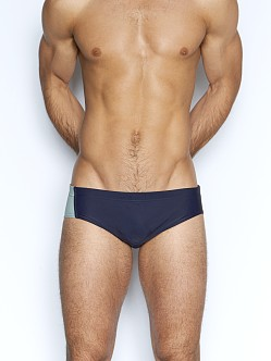 C-IN2 H+A+R+D Lo No Show Brazilian Swim Brief Navy